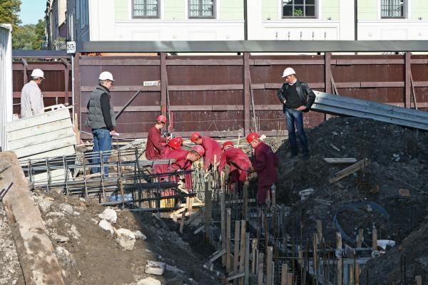 Dramos teatro rekonstrukcija juda į priekį