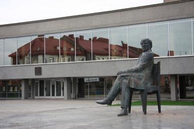 Panevėžio J.Miltinio dramos teatrui vadovaus R.Vikšraitis
