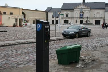 Klaipėdos centre stovos skaitikliai įrengti savavališkai