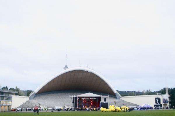 Rugsėjo 1-osios šventė Vingio parke dalyvių antplūdžio nesulaukė