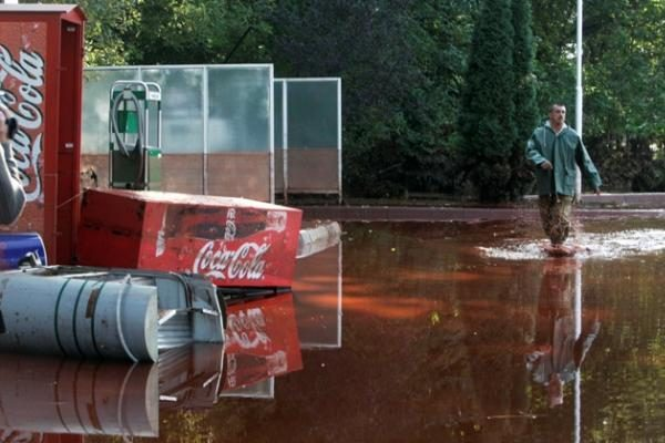 Vengrijoje per gamyklos avariją pasklidę teršalai iš dalies išsisklaidė, Dunojui nepakenkta