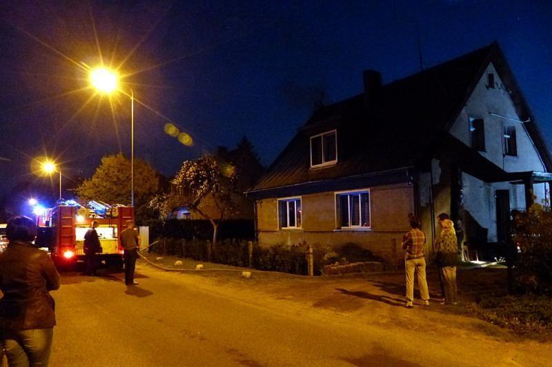 Šilutės rajone dėl neblaivaus buto šeimininko elgesio kilo gaisras