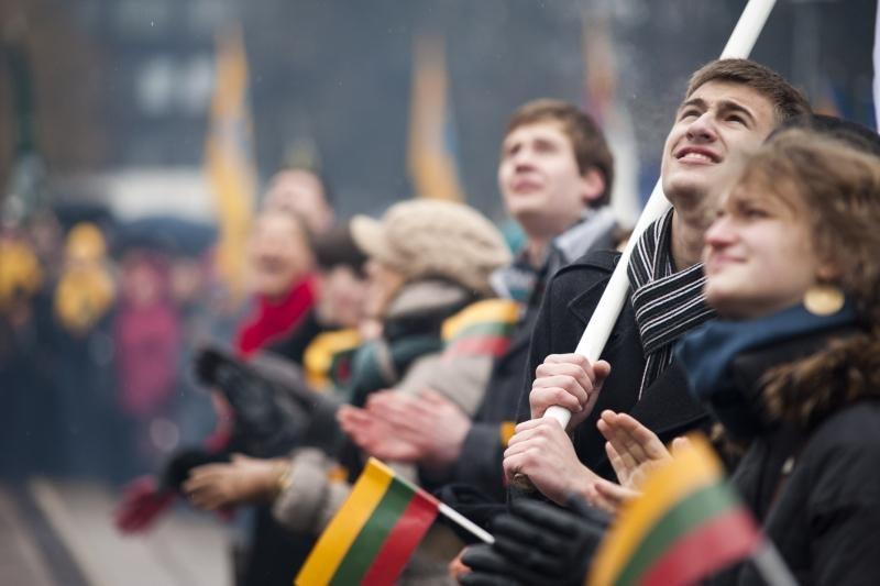 Kauniečiai gausiai rinkosi švęsti Nepriklausomybės dienos