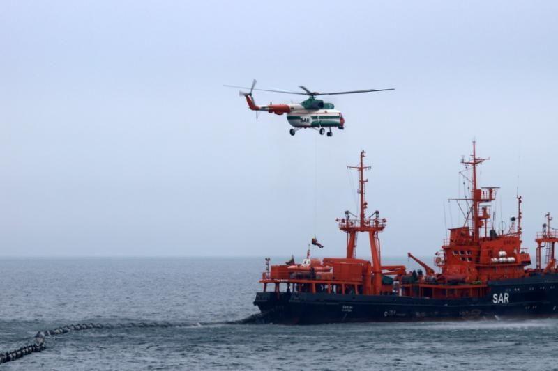 Baltijos jūroje – taršos incidentų likvidavimo treniruotės