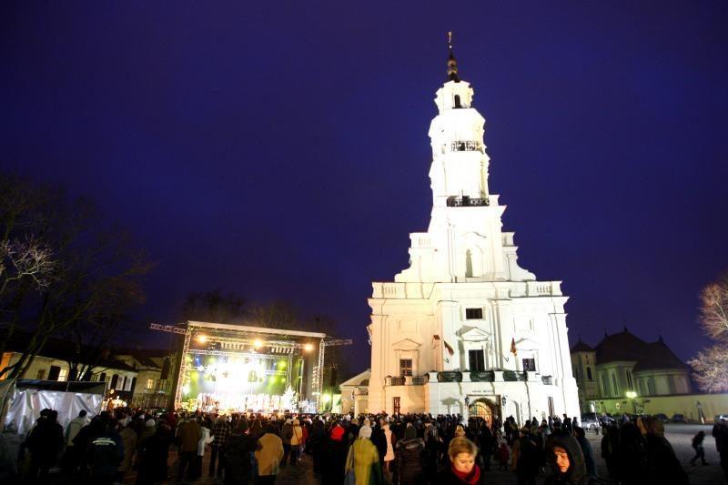 Trys karaliai Kaune paskelbė žiemos švenčių pabaigą