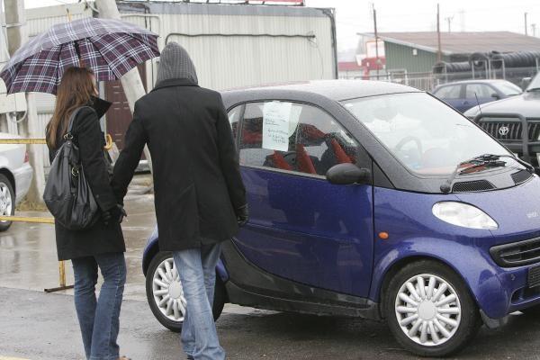 Ar vengti daužto automobilio?