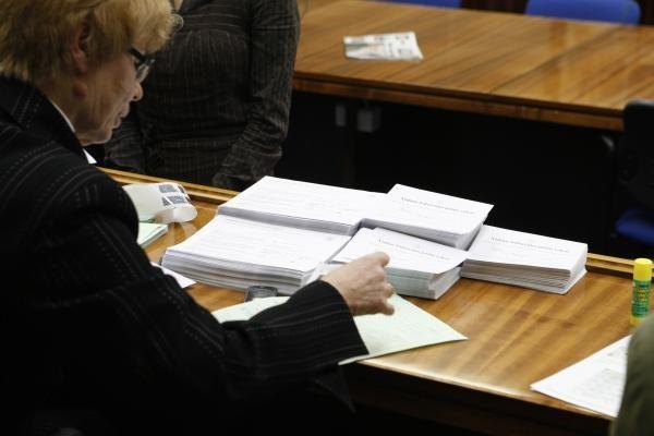VRK gavo skundą dėl balsavimo biuletenio