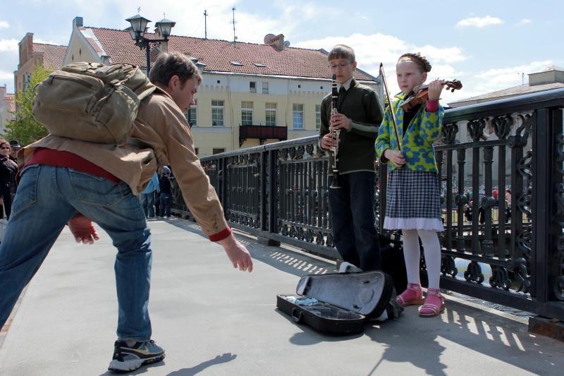 Klaipėdos Gatvės muzikos dienoje – stilių įvairovė