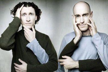"""Lietuvą atvyksta australų komikų duetas """"Umbilical brothers"""""""
