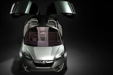 """Hibridinis """"Subaru"""" konceptas"""
