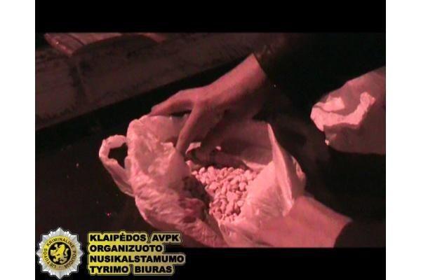 Klaipėdietis vežėsi didelį kiekį narkotikų (papildyta)
