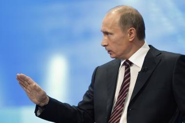 V.Putinas dalijasi darbuotojų atleidimo patyrimu