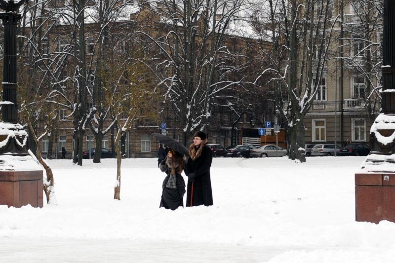 Filmo kūrėjai vilniečiams palieka čiuožyklą miesto centre (atnaujinta)