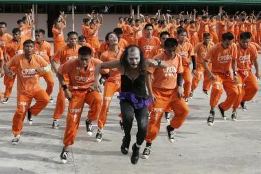 M.Jacksono atminimą pagerbė ir Filipinų kaliniai