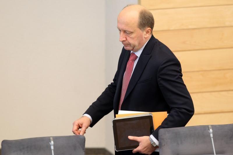 A.Kubilius siūlo nedramatizuoti prezidentės nevykimo į Varšuvą