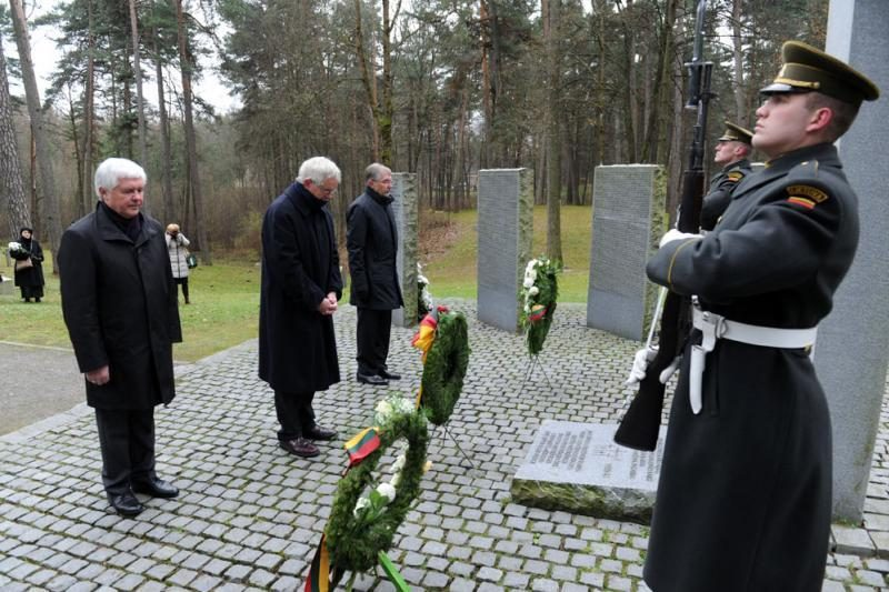 Vilniuje paminėta Vokietijos tautinio gedulo diena