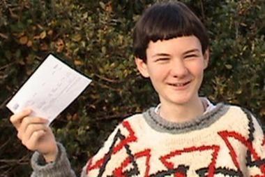 Penkiolikmetis – jau Kembridžo universiteto studentas