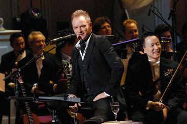 Į Stingo koncertą bilietų neliko