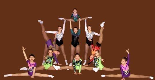 Tauro sporto mokykloje - aerobinės gimnastikos čempionatas