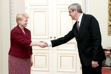 D.Grybauskaitė: reklama nėra geriausias LRT finansavimo būdas