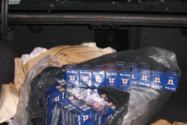 Uostamiesčio policininkams įkliuvo kontrabandininkai