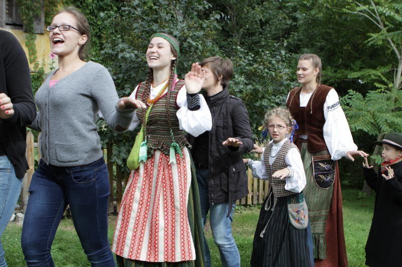 Klaipėdos Botanikos sode – folkloro šventė