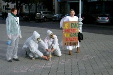 Klaipėdos jaunimas ragino keisti miestą