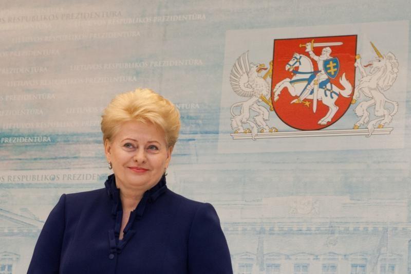 Prezidentė su K.Bobeliu aptarė VLIK 70 metų jubiliejaus renginius