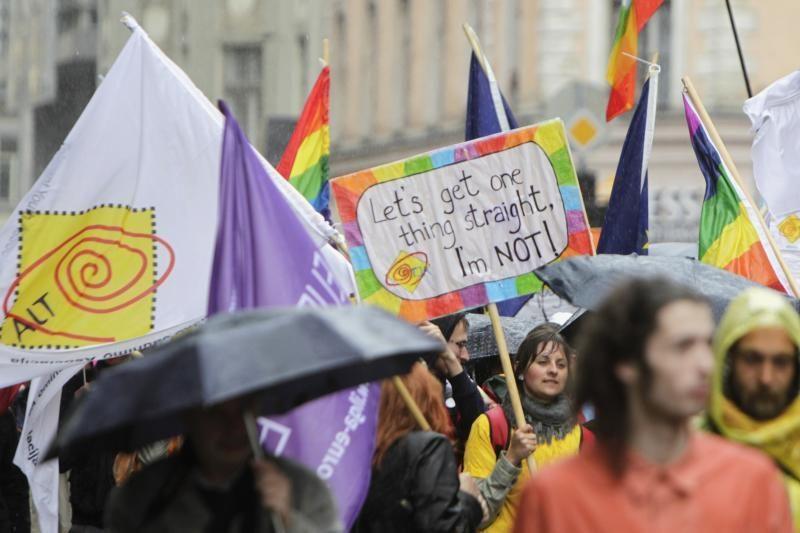 Baltijos šalių gėjų paradas Rygoje baigėsi be incidentų
