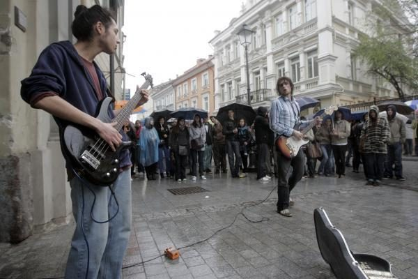 """Gatvės muzikos dienos"