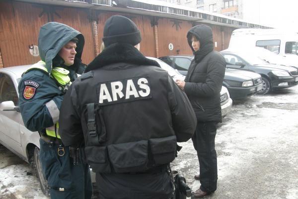 Klaipėdos policijos kieme - sprogmuo