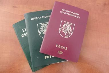 Lietuvos emigrantai ES ir NATO dvigubos pilietybės neturės (papildyta 14 val.)