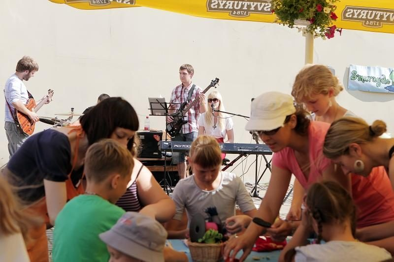 Prekybininkai ignoravo paskutinę Klaipėdos senamiesčio šventę