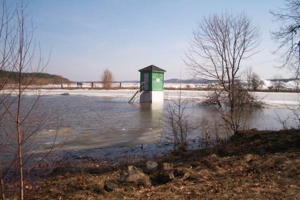Potvynis grasina Smalininkų miesteliui (atnaujinta)