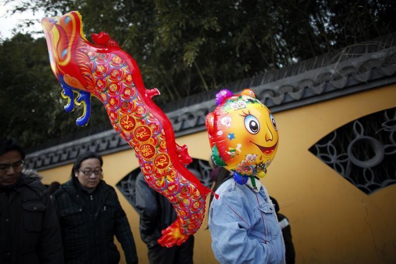 Azijoje sutikti naujieji Drakono metai