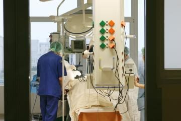 Į sostinės ligoninę be sąmonės pristatytas vyriškis