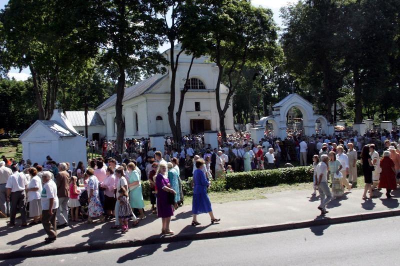 Panemunės šventėje – sveikuolių pirtis, sriuba ir dainos