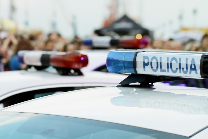 Pareigūnai Klaipėdos gatvėse mokė vairuotojus drausmės