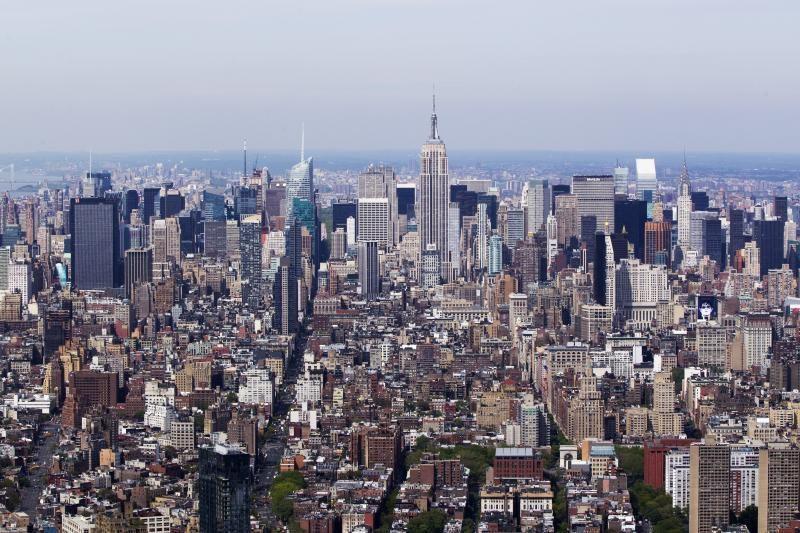 Niujorko peizaže iškilo nauja viršūnė – Pasaulio prekybos centras
