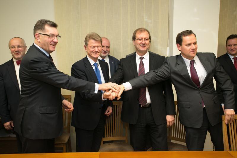 A.Butkevičius: koalicijos partneriai santykius aiškintis turėtų kitaip