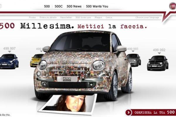 """""""Fiat 500"""" puoš gerbėjų nuotraukos"""