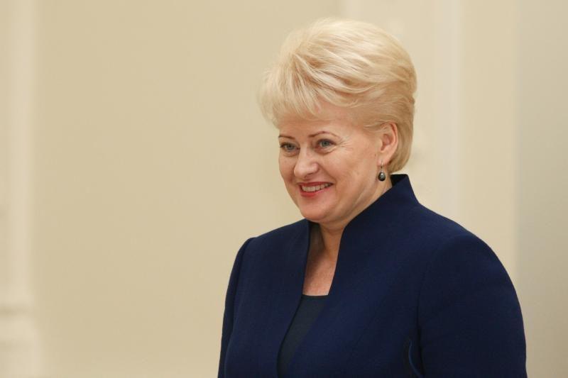 D.Grybauskaitė pasveikino Nobelio taikos premijos laureatę