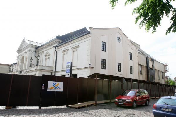 Dramos teatras neteko stogo