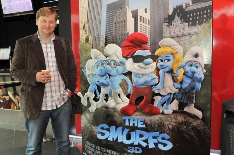 """""""Smurfus"""" įgarsinęs G.Savickas: su tokiu balsu jokios princesės """"nepakabinčiau"""""""