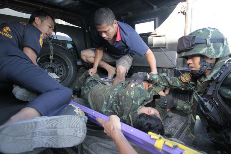 Sprogimas Tailande nusinešė 8 karių gyvybes