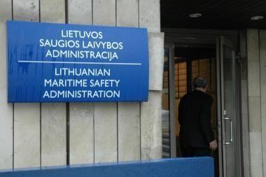 Saugios laivybos administracija mažins etatus