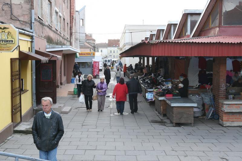 Senąjį uostamiesčio turgų reorganizuos