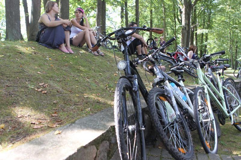 Europos savanoriai kviečia lietuvius dviračiais apžiūrėti Aukštaitiją