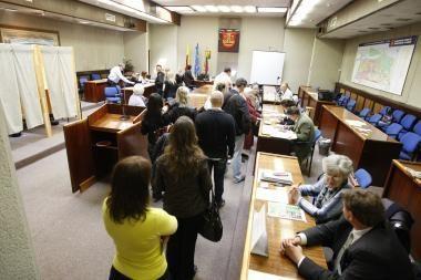 Prezidento rinkimai: klaipėdiečiai skuba balsuoti