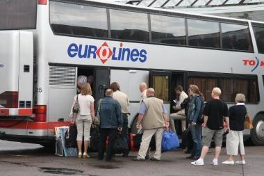 Iš Klaipėdos autobusų stoties norima prisiteisti pinigų